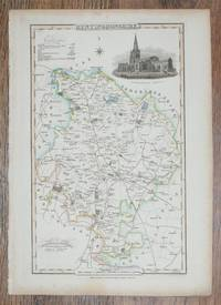 1839 Map of the County of Huntingdonshire - taken from Pigot and Co's British Atlas Comprising the Counties of England (upon which are laid down all railways completed and in progress)