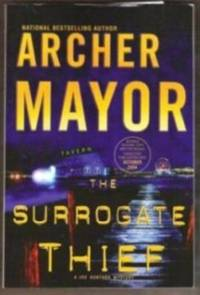 THE SURROGATE THIEF A Joe Gunther Mystery, Advance Reading Copy