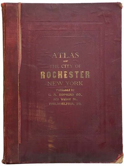 Philadelphia, PA: G.M. Hopkins Co, 1910. Large Hardcover. Good/No Jacket. Complete with index map, 4...
