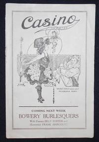 image of Casino Theatre Burlesque Review [Harry K. Morton and Zella Russell program]