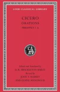 image of Cicero, XVa, Orations: Philippics 1-6 (Loeb Classical Library)