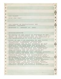 [From printed envelope]: Dan Flavin: Pink and 'Gold' / Dec. 9th thru Jan. 14th 1968