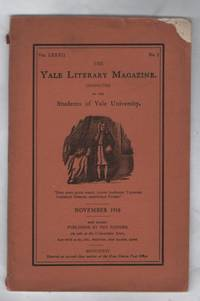 The Yale Literary Magazine Conducted By the Students of Yale University Volume LXXXII No. 2