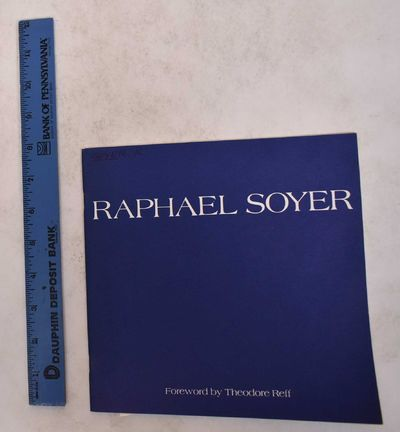 New York: Forum Gallery, 1981. Softcover. VG. Pen writing on front cover. Lightly bowed.. Dark blue ...