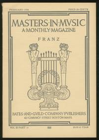 Masters in Music: Robert Franz: February, 1904, Volume III, Part 14