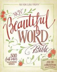 NKJV, Beautiful Word Bible, Hardcover, Red Letter Edition: 500 Full-Color Illustrated Verses by Zondervan - Hardcover - 2016-03-22 - from Books Express (SKU: 0310003687n)