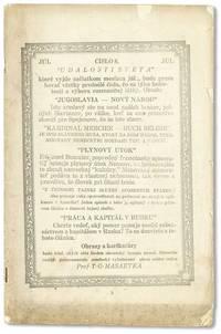 "Udalosti Sveta ""World's Events,"" Vol. 1, nos. 6-7 [upper wrapper misprinted No. 8], Jun, 1918"