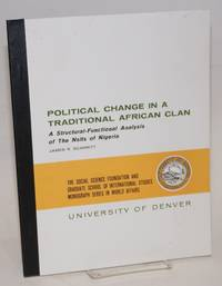 image of Political change in a traditional African clan; a structural-functional analysis of the Nsits of Nigeria
