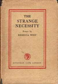 image of THE STRANGE NECESSITY: ESSAYS AND REVIEWS