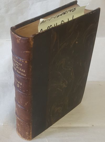 Benares: E. J. Lazarus, 1897. Second Edition. Hardcover. Octavo; 669pp; green morocco spine and marb...