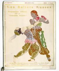 Souvenir program for Le Coq d'or and Pétrouchka.   Neuvième Saison Russe. Mai-Juin 1914 Ballet Russes de Diaghilev