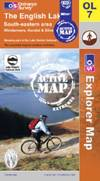 image of The English Lakes - South Eastern Area (OS Explorer Map Active)