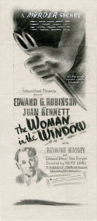 image of The Woman in the Window (Archive of concept art sketches for advertisements promoting the film's original release)