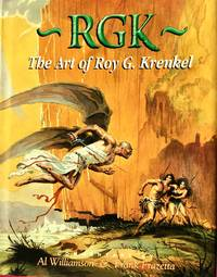 RGK : The Art of ROY G. KRENKEL (Ultra Deluxe Edition Limited to 120 Leatherbound Copies w/ Original Tipped In Drawing)