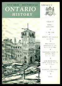 image of ONTARIO HISTORY - Volume 55, number 1 - March 1963