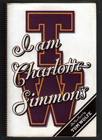 I Am Charlotte Simmon's by  Tom Wolfe - First Edition - 2004 - from Mystery Cove Book Shop and Biblio.com