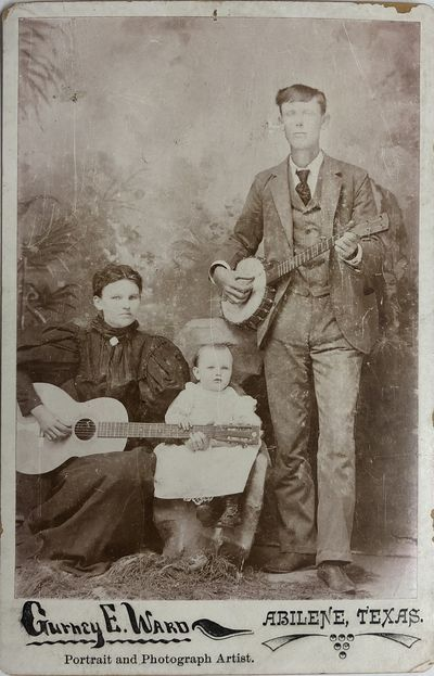 Family of Musicians, a Portrait [19th...