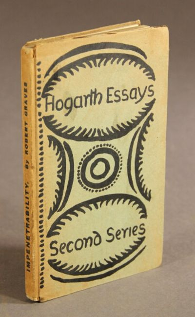 London: published by Leonard & Virginia Woolf at the Hogarth Press, 1926. First edition, 16mo, pp. 6...