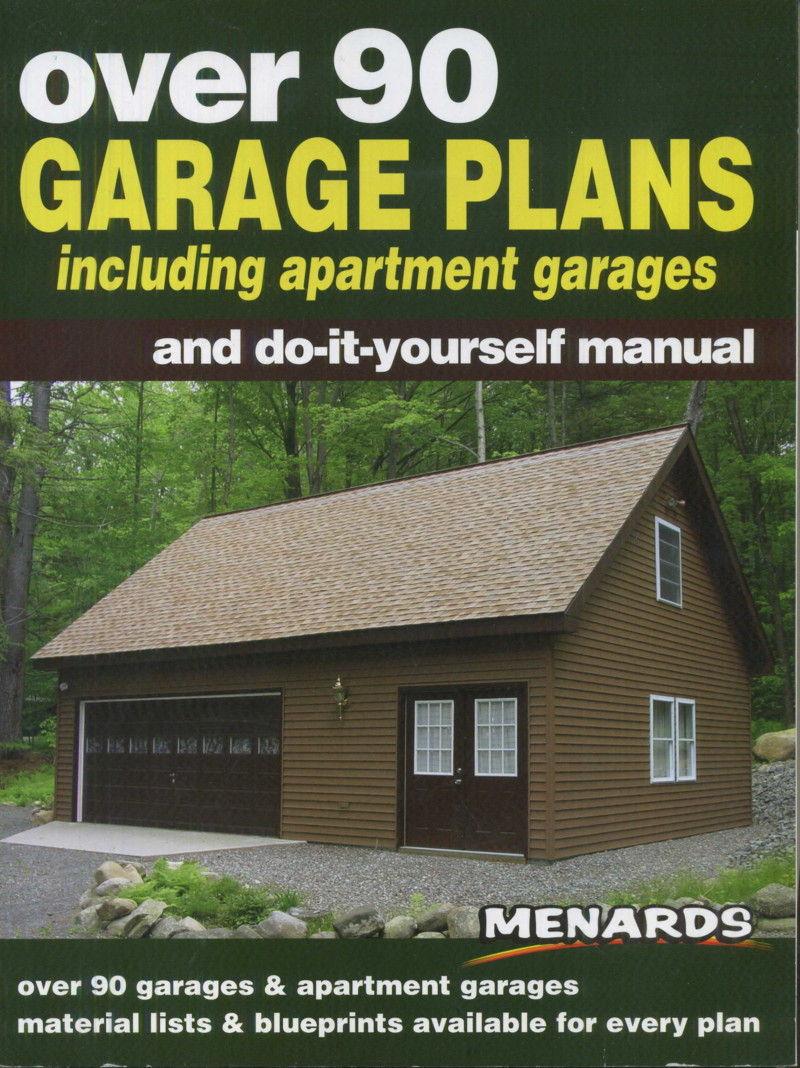 Over 90 garage plans including apartment garages and do it for Menards apartment garage plans