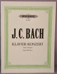 image of Konzert D Dur [D Major], Fur Cembalo o der Klavier und Orchester; Opus XIII 13 nr. 2; Ausgabe fur 2 Klaviere.