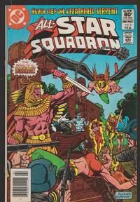 The Great Heros Of All Times R The All Star Squadron Fire Brand Vol 2 No7 March   1982