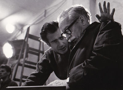 Beverly Hills, CA: Metro-Goldwyn-Mayer , 1968. Vintage borderless photograph of screenwriter Dalton ...