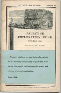 Quarterly Statement. April 1914.