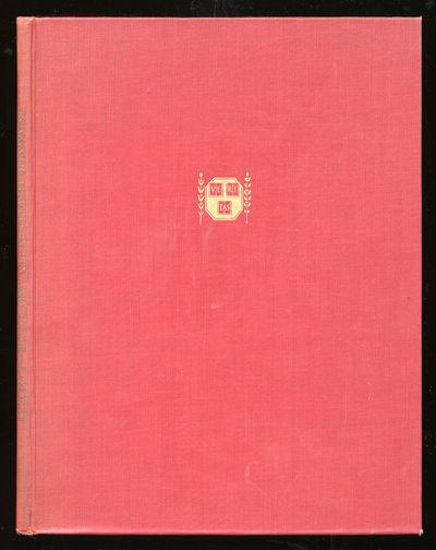 Cambridge: Harvard University Press, 1935. Hardcover. Fine. First edition. Small folio. Spine ends a...