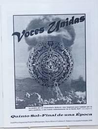 Voces Unidas: vol. 9, no. 1, Octubre 1999; Quinto Sol-Final de una Epoca
