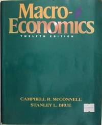 Macroeconomics: Principles, Problems, & Policies by  Stanley L  Campbell R. Brue - Paperback - 1993-06-01 - from Eco Sales and Biblio.com
