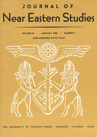 Journal of Near Eastern Studies (Vol 47, January 1988, No. 1)