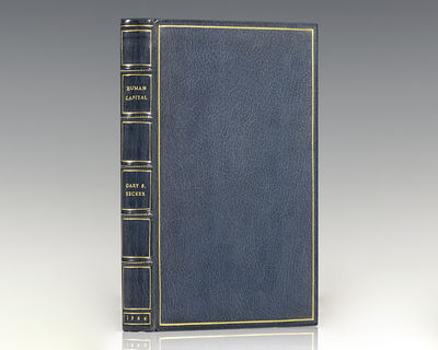 New York: National Bureau of Economic Research, 1964. First edition of the economist's magnum opus. ...
