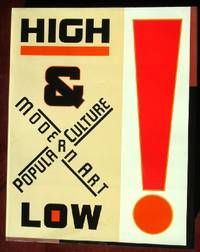 High and Low: Modern Art and Popular Culture