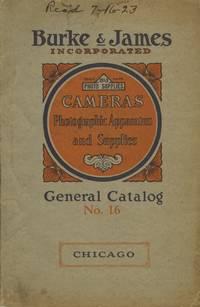 CATALOG NO. 16 OF CAMERAS, PHOTOGRAPHIC APPARATUS AND SUPPLIES.; CATALOG NO. 16