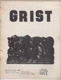 Grist 8 (1966) by  et al  Clive Matson (addressed to) - Paperback - 1st edition - 1966 - from Philip Smith, Bookseller and Biblio.co.uk
