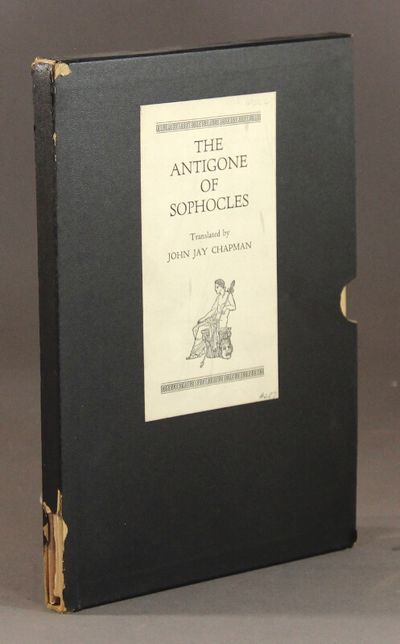 Boston & New York: Houghton Mifflin Company, 1930. Edition limited to 550 copies (this, no. 287); fo...