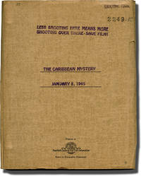 The Caribbean Mystery (Original screenplay for the 1945 film)