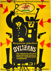 image of Dylizans [Stagecoach] (Original poster for the 1939 film)