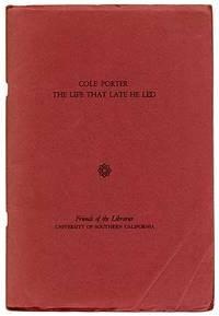 Cole Porter: The Life That Late He Led. Program Participants: Ethel Merman, Fred Astaire, Roger Edens, Garson Kanin, Gene Kelly, Alan Jay Lerner, Frank Sinatra