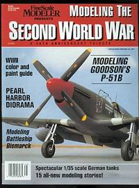 image of MODELING THE SECOND WORLD WAR:  A 50th ANNIVERSARY TRIBUTE.  FINESCALE MODELER. 1995.