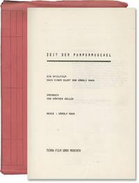 image of Zeit der Purpurmuschel [Time of the Purple Shellfish] (Original screenplay for an unproduced film)