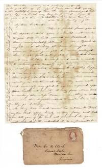 2 manuscript letters on a woman's trip from Virginia to Maine