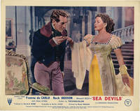 Sea Devils (Collection of 8 front-of-house card from the 1953 film)