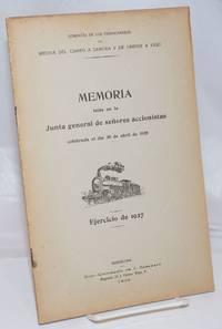 image of Memoria leida en la Junta general de senores accionistas celebrada el dia 30 de abril de 1928.  Ejercicio de 1927