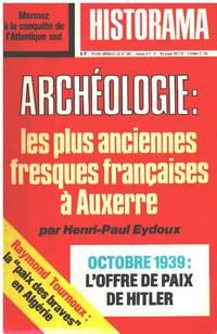 image of Revue historama n° archeologie : les plus anciennes fresques françaises a auxerre