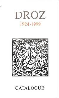 Catalogue No nr/1999: 1924-1999. De Paris a Genève, 75 Ans D'érudition.
