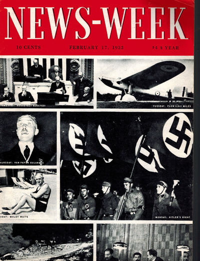 Dayton, OH: News-Week Inc, 1933. Historic 1st weekly issue of this long-running magazine. Near Fine,...