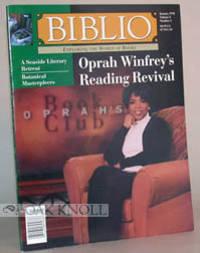 BIBLIO, EXPLORING THE WORLD OF BOOKS