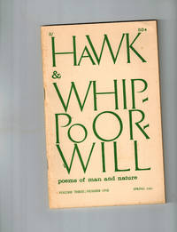 Hawk & Whippoorwill; Poems of Man and Nature, Vol. 3, Number 1, Spring 1962