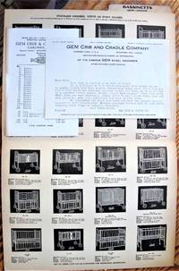 image of Bassinetts, Cribs, Infants' Furniture. Folding Brochure